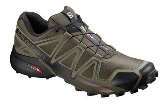 Zapatillas Salomon Speedcross 4 Hombre(407378)+regalo S+w