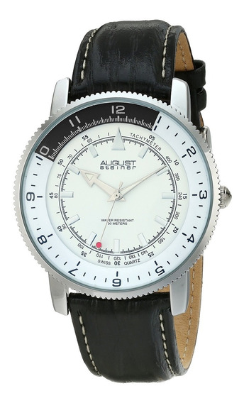 Reloj De Cuarzo Suizo Plateado As8124ss De August Steiner