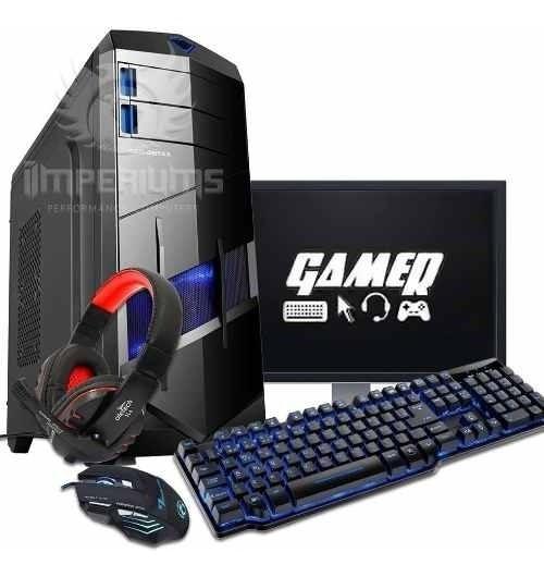 Pc Gamer Completo I3 / 8gb Ddr3 / Gtx 1050 / + Kit Gamer