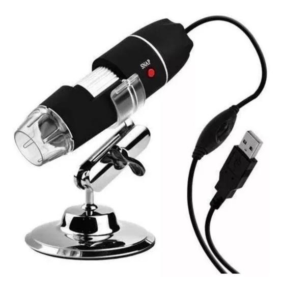 Microscopio Digital Usb X500 2mp Con Base Tienda Física 30$