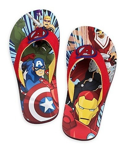 Chinelo Avengers Disney Original Marvel
