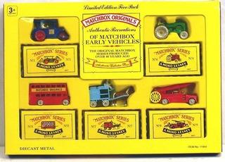 Matchbox Originals 1992 Authentic Recreations Vintage 5 Cars