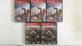 Ps2 -game God Of War I E Ii + Original - Ps2 - Valor Cada
