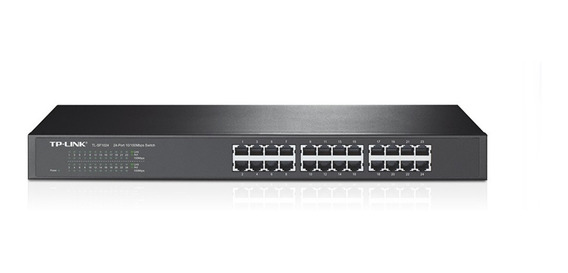 Switch Tp-link Tl-sf1024 24 Puertos 10 100 Mbps Rackeable
