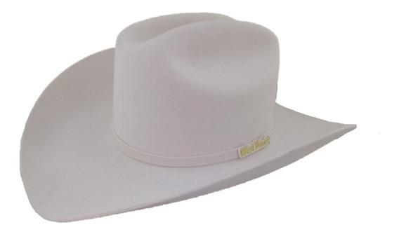 Sombrero Texana 6 X Marca West Point Color Blanco Lana
