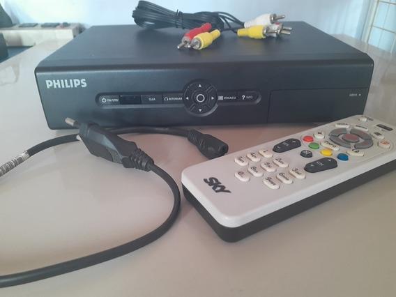 Receptor De Satélite Philips Para Sky C/ Cartão Desativado