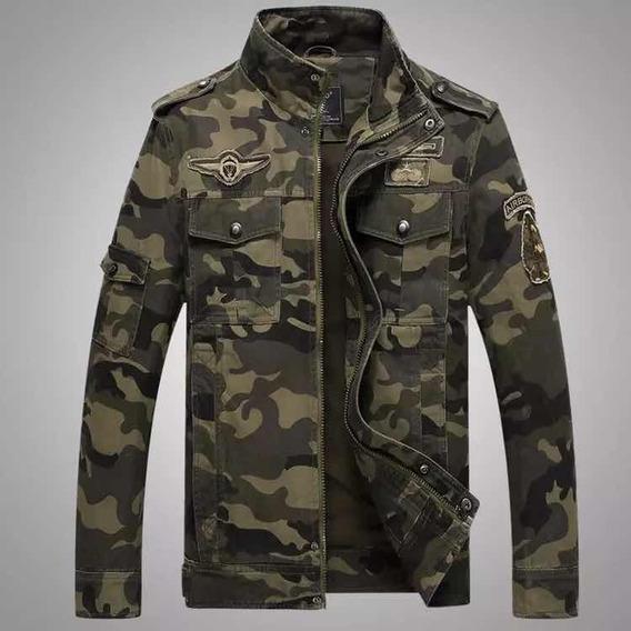 Jaqueta Blusa Militar Camuflada Masculino Moda Inverno Casac