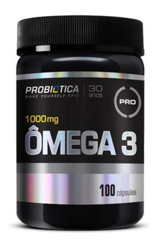 Ômega 3 - 100 Cápsulas Nova Formula  Pro Health - Probiótica