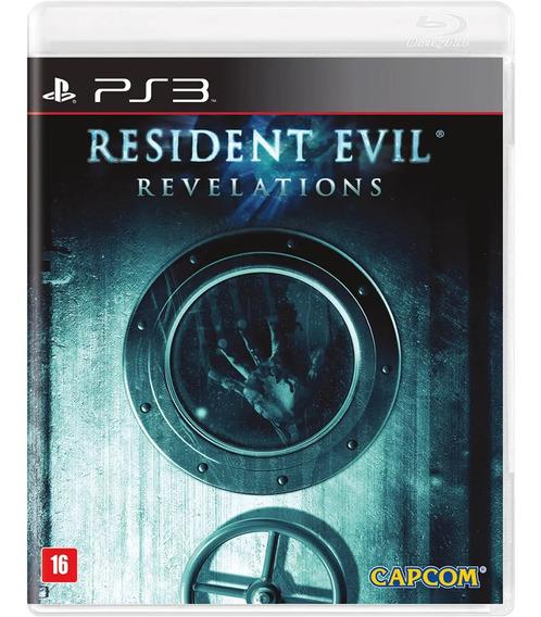 Jogo Resident Evil Revelations Playstation 3 - Mídia Física