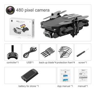 Xkj-mini Dron 4k 2020 P Hd Con Cámara, Wifi, Fpv, 1080