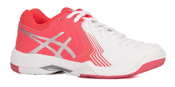 Tênis Asics Gel Game 6 - White/diva Pink/silver
