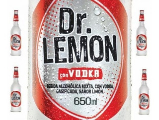 Dr Lemon Vodka 650ml Limon 650ml Porron Botella Aperitivo