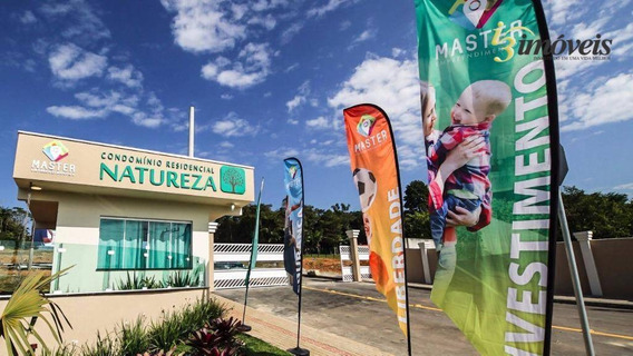 Terreno À Venda No Condomínio Natureza, Itajaí. - Te0078