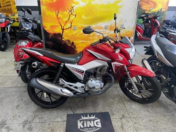 Honda Cg 160 Titan Ex 2016 Vermelha - King Motos