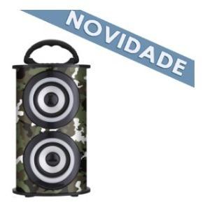 Caixa De Som Portatil 25w Bluetooth Trc218d Trc