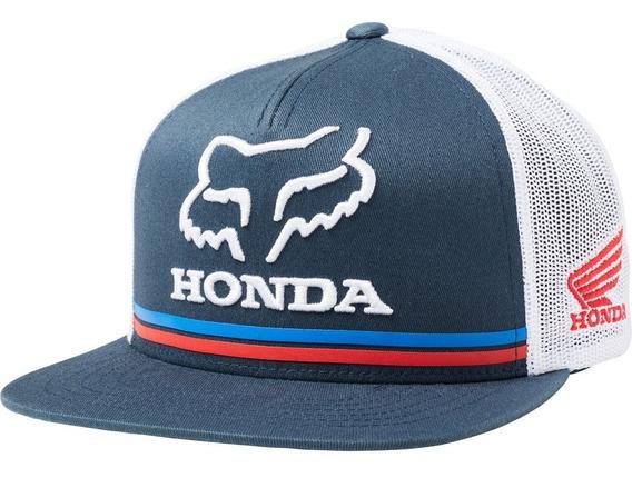 Gorra Fox Honda Snapback Azul