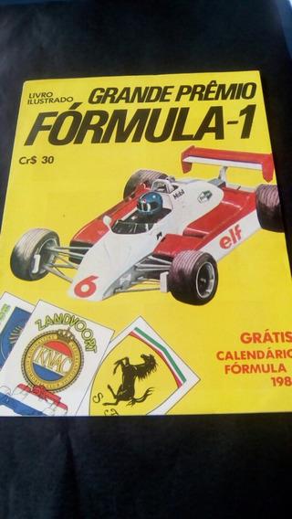 Álbum Figurinhas Grande Prêmio Formula 1 - Completo 1982