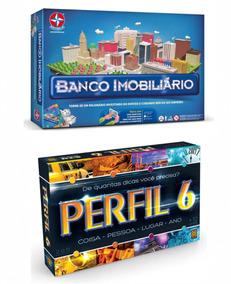 Brinquedos Meninos Perfil 6 Grow + Banco Imobiliário Estrela