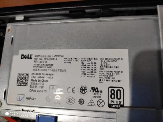 Fonte Dell Precision T3500 N525ef-00 P/n 0u597g 525 W Usada