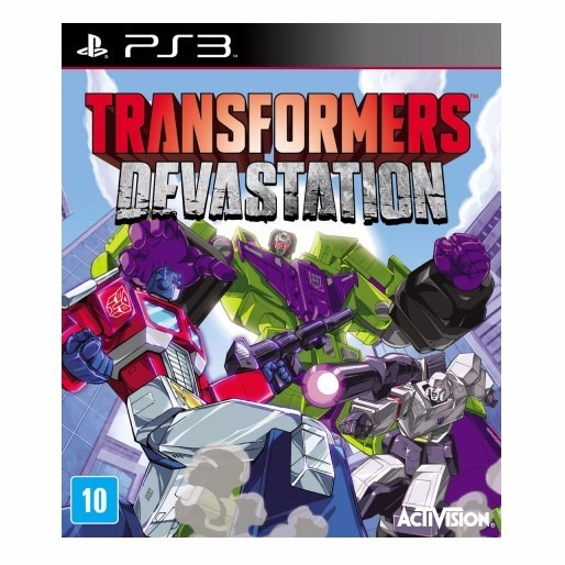 Transformers Devastation Ps3 Mídia Física Lacrado
