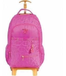 Mochilete Capricho Pink G 48904