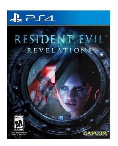 Resident Evil Revelations Nuevo Playstation 4 Ps4 Vdgmrs