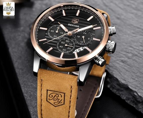 Relógio Masculino Benyar-5104 Original 100% Funcional
