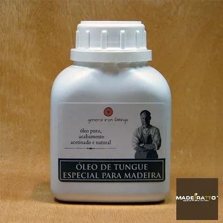 Óleo De Tungue Bruto - 1l - General Iron Fittings