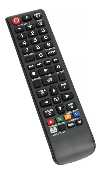Controle Remoto Samsung Ah59-02533a Ht-f4500 Ht-f4505 Orig.