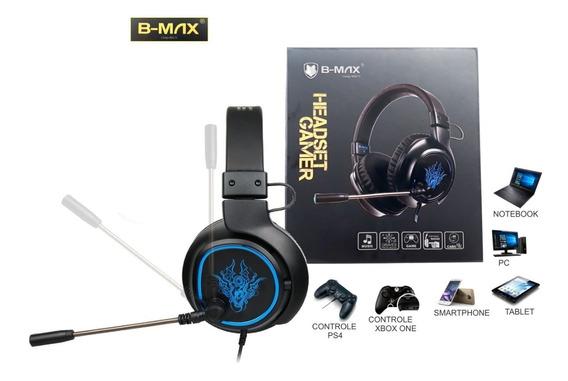 Headset Bm 215 Gaming Ps4 Pc Xbox One Celular P2 Adaptador