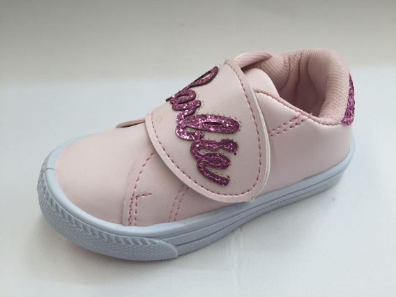 Zapatillas Barbie Con Abrojo Para Niñas
