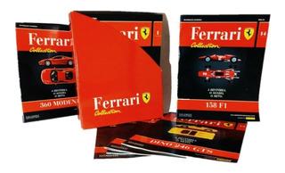 Coleção Ferrari Collection Revista Ferrari F1 Miniatura Case