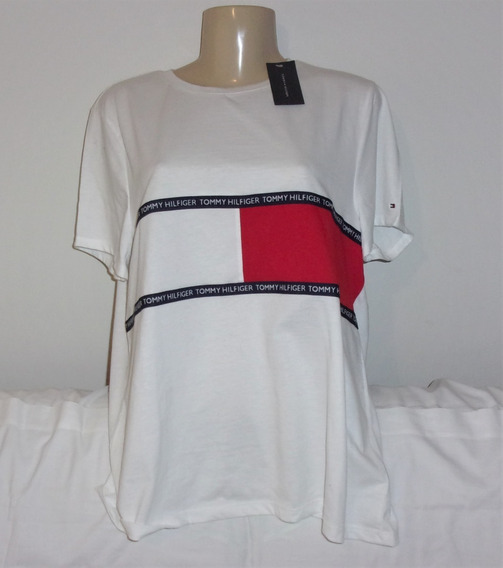 Camiseta Tommy Hilfiger Original Xl Brasil-gg Nova Etiqueta