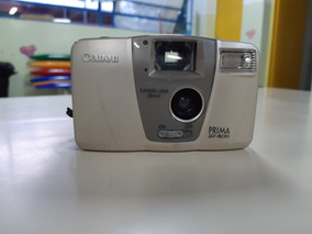 Câmera Analógica Máquina Fotográfica Canon Prima Bf 800 Ok