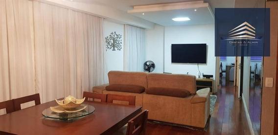 Apartamento Na Vila Augusta, Condomínio Parque Clube, 134m², 3 Suítes, Estuda Permuta. - Ap0724