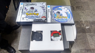 Pokemon Soulsilver Version Ds Completo Caja Con Pokewalker