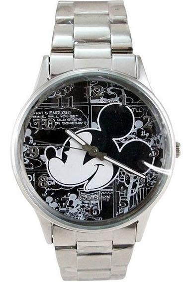 Relogio Mickey (unisex) C/ Pulseira Aço - Original Disney