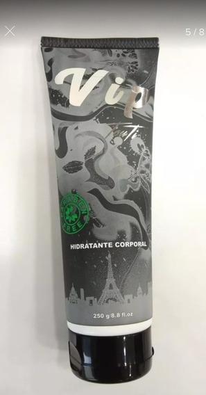 Kit 4 Hidratante Vip Touti Original Fragrância Silver Sent