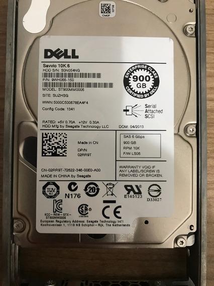 Hd Dell 900gb 10k Sas 2.5 P/n 08jrn4 St9900805ss