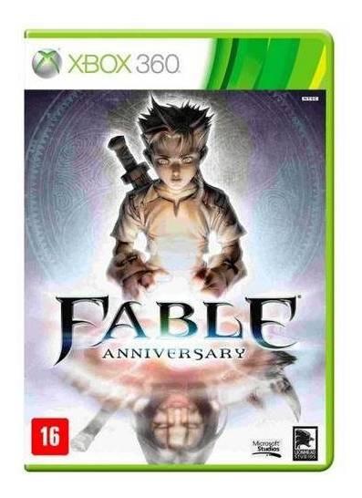 Jogo Fable Anniversary - Xbox 360 Mídia Física Usado