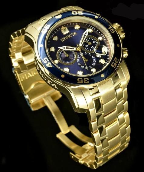 Oferta Relógio Invicta Pro Diver 0073 Original + Caixa E Nfe