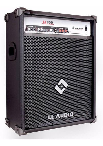 Caixa Amplificada Ll Ll300 75w Rms Guitarra Violão Microfone
