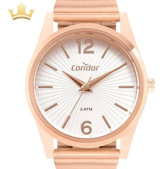 Relógio Condor Feminino Co2035muy/8j C/ Garantia E Nf