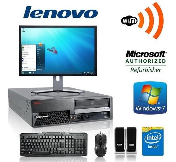Computador Pentium Dual + Monitor 17 Lcd E Wi-fi