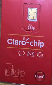 Chip Da Claro Com 60 Gb De Internet