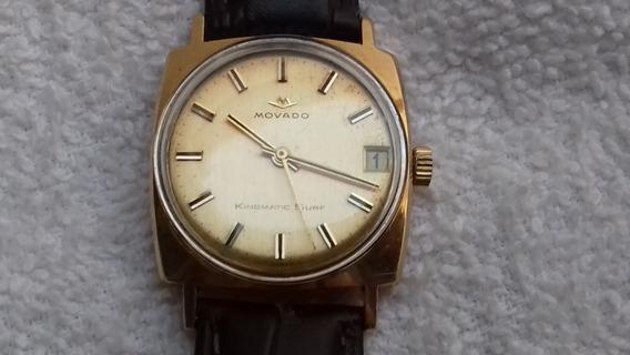 Fino Reloj Movado Caja De Oro Macizo 18k. Automatico 28joyas