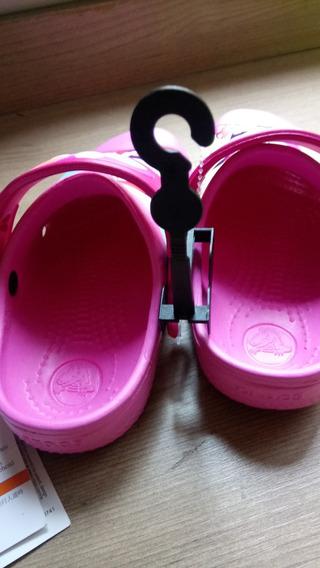 Crocs Infantil Rosa Minnie Mouse Disney Tam. 28/29 C10/11