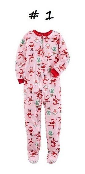 Mamelucos Carters Ropa Niña Bebe Pijama Afelpados Tela Polar