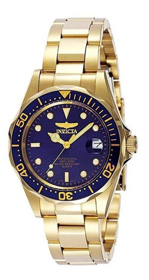 Reloj Invicta 8936 Pro Diver Collection Chapa Oro 23k Gold