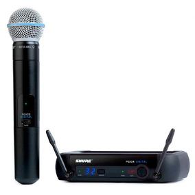 Microfone Sem Fio Shure Pgxd24br Sm58x